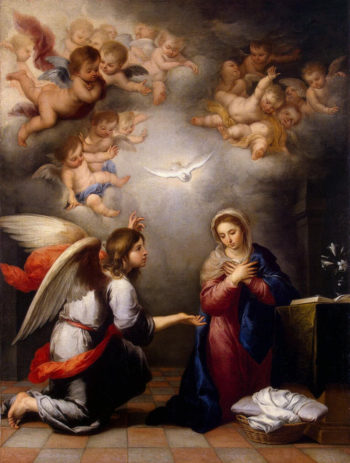 The Annunciation mystery